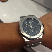 Before & after service photos of Audemars Piguet Royal Oak Offshore