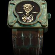 Bell & Ross Tourbillon Skull Bronze Achieved 100,000 Swiss Francs at Only Watch
