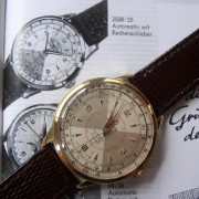 A vintage 1952 non-chrono Breitling Chronomat back from service