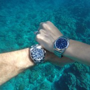 Rolex Sea-Dweller 4000 and Explorer I underwater adventures in Micronesia