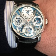 Some Live pics of the MB&F Legacy Machine Perpetual by WILLIAM MASSENA