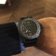 I'm a very lucky guy: Panerai Luminor Submersible 1950 Carbotech PAM616