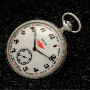 A World Away: Russian Molnija pocket watch cal. 3602 by PAUL DELURY