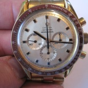 Rare hands-on photos of NASA Astronaut Ed White's gold Omega Speedmaster #10