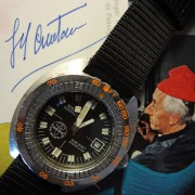 Doxa Sub 300T Sharkhunter US Divers & Meeting Captain Cousteau