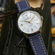 Watches & shoes – timeless high craft: Jaeger-LeCoultre Geophysic & JM Weston