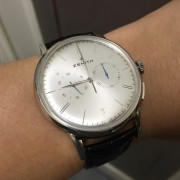 Zenith El Primero Chronograph Classic – first caught my eye during BaselWorld