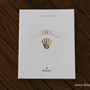 The latest Rolex publication: The Rolex Way by JESSICA