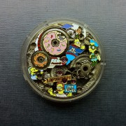 A different kind of Bart Simpson Timepiece by Russian artist & engraver Artur Akmaev by DARREN G