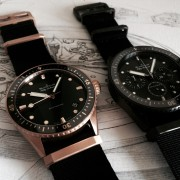 Let me add my new arrival to the Bathyscaphe party: Blancpain Bathyscaphe Sedna-Gold