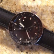 My first BP has arrived – Blancpain Fifty Fathoms Bathyscaphe in steel