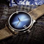 H. Moser Endeavour Perpetual Calendar Concept Funky Blue