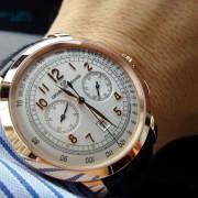 New arrival Girard-Perregaux 1966 rose gold chronograph
