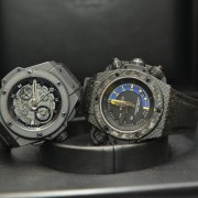 Hublot again and again – Kingpower All Black Unico & Kingpower Oceanographic 1000m