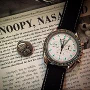 I'm over the moon –  Omega Speedmaster Apollo 13 Silver Snoopy Award