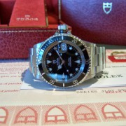 Fresh out of Rolex Service Center, basically a brand new vintage Tudor Submariner 79090