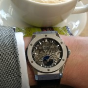 New to forum and a new Hublot Classic Fusion Aerofusion Moonphase Titanium