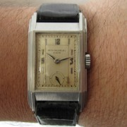 A rare find: rectangular Patek Philippe ref. 521 from the 1930s
