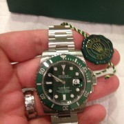 Unboxing: Rolex Submariner Hulk 116610LV – well worth the wait