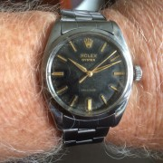 Vintage 1958 Rolex Oyster	– it's from 1958, the year I was born