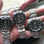 What's your vintage Rolex collection look like & how do you decide when it's time to let one go?
