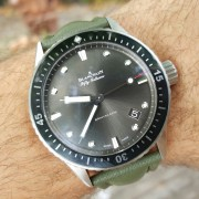 The baby Fifty Fathoms has landed – Blancpain Bathyscaphe