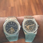 My favorite Audemars Piguet Royal Oaks: RO Extra-Thin Tourbillon & RO Double Balance Wheel Openworked