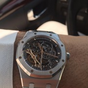 My latest Audemars Piguet: Royal Oak Double Balance Wheel Openworked 15407