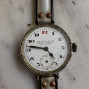 My latest flea market find: Lever India Extra Quality vintage watch from the 1920s or 1930s