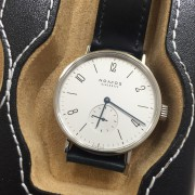 My NOMOS Tangomat – best part for me is the early serial number of 215