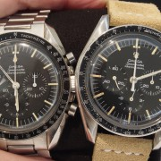 Same but different – Omega Speedmaster caliber 321 ref 102-102 vs 145-012