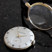 In Retrospect Part 4/10 The one with the wedding: vintage gold Jaeger-LeCoultre cal. 449C