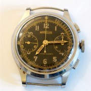 Just picked up my vintage Angelus Chronograph from service – with in-house Caliber 215