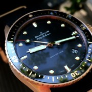 Some pics of the bling Blancpain Bathyscaphe