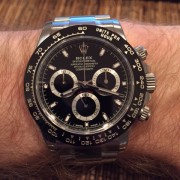 Couldn't wait, so pulled the trigger: Black Rolex Daytona Cerachrom Ref. 116500LN