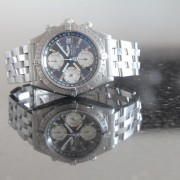 In Retrospect Part 9/10 The one that I finally bought: Breitling Chronomat Longitude Grey Dial