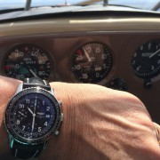 Two great thrills: flying with a new pilot watch – Breitling Navitimer Aviastar A13024