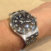 Took the IWC Pilot Mark XVIII for a test flight