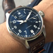 Incoming pilots for me and for her – IWC Big Pilot Le Petit Prince 500916 and IWC Mark 18 Le Petit Prince