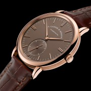 Introducing the A. Lange & Söhne SAXONIA AUTOMATIC with terra-brown dial
