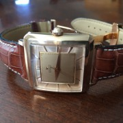 Received info for my father's vintage rose gold Zenith ref 1/2051 from 1957