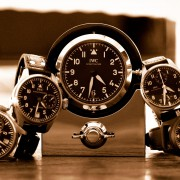 IWC Pilot's table clock, a new gift item in 2016 that blends in well with the pilot's watches