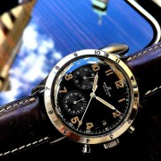 "Breitling Co-Pilot for Vintage Friday: Co-Pilot AVI 765; ""Analog Lucy"" launched 1953"