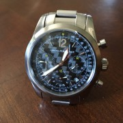 Today I got my Girard-Perregaux Ferrari Chronograph back from service in Florida