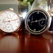 "Officially a ""Collector"" with my second IWC – Portuguese 75th anniversary"