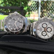 Rolex SeaDweller 4000 on the job