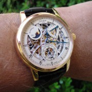 Watch Review: Glashütte Original Senator Moonphase Skeleton Ref. 49-13-15-15-04