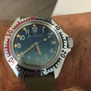 Watch Review: A vintage Vostok Amphibia