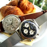 Some classic Breitling chronographs: Premier ref. 765 & TopTime ref. 810 by WATCHFRED