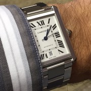 Cartier Tank Solo XL has to be one of the best buys out there
